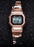 G-Shock Digital Rose Gold All-Metal Solar Men's Watch GMWB5000GD-4