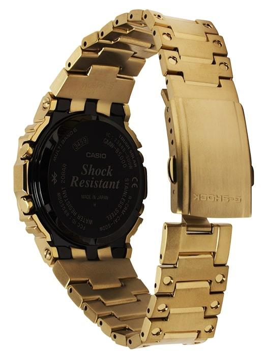 G-Shock Digital Gold All-Metal Solar Men's Watch GMWB5000GD-9