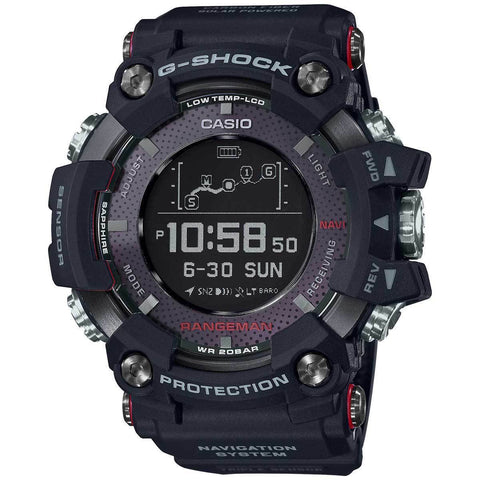 G-Shock Master of G RANGEMAN GPS Navigation Men's Watch GPRB1000-1