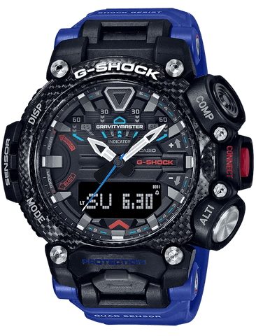 G-Shock Master of G GRAVITYMASTER Blue-Black Men's Watch GRB200-1A2