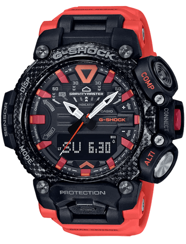 G-Shock Master of G GRAVITYMASTER Orange-Black Men's Watch GRB200-1A9