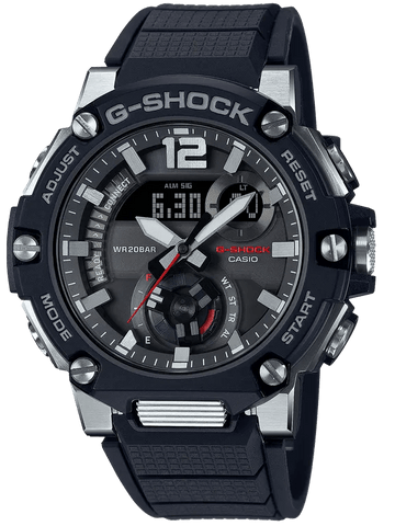 G-Shock G-STEEL Carbon Core Guard Black Strap Men's Watch GSTB300-1A