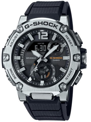 G-Shock G-STEEL Carbon Core Black Strap Men's Watch GSTB300S-1A