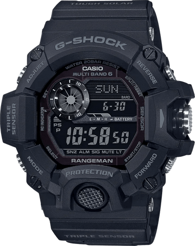 G-Shock Master of G RANGEMAN All Black Men's Watch GW9400-1B