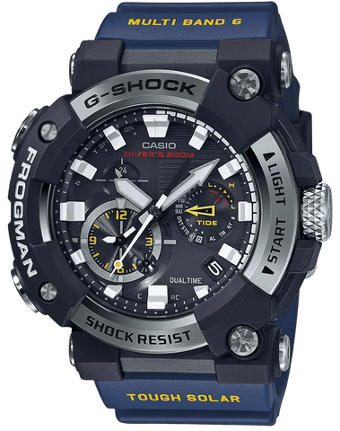 G-Shock Master of G FROGMAN ISO Blue Men's Watch GWFA1000-1A2