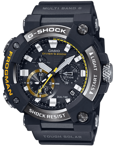 G-Shock Master of G FROGMAN ISO Black Men's Watch GWFA1000-1A
