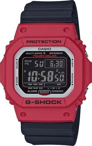 G-Shock Digital Red-Black Solar Men's Watch GWM5610RB-4