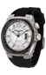 Jorg Gray JG8300-11 Men's Watch White Dial Black Silicone Strap Swiss Movement