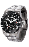 Jorg Gray JG9600-13 Men's Watch Black Dial Swiss Movement With Silver Stainless Steel