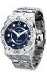 Jorg Gray JG9600-14 Men's Watch Blue Dial Swiss Movement With Silver Stainless Steel