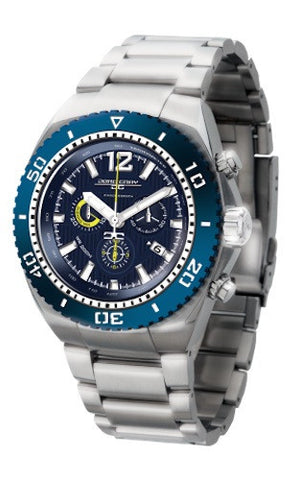 Jorg Gray JG9700-24 Men's Watch Chronograph Diver Blue Dial