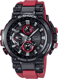 G-Shock MT-G Black - Red Strap Solar Connected Men's Watch MTGB1000B-1A4