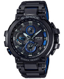G-Shock MT-G Black - Blue Stainless Steel Solar Connected Men's Watch MTGB1000BD-1A