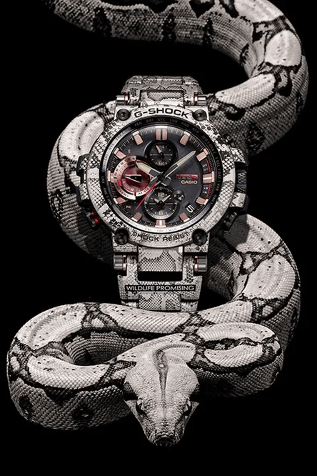 G-Shock MT-G Limited Edition African Rock Python Men's Watch MTGB1000WLP1
