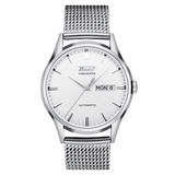 Tissot Heritage Visodate Silver Dial Mesh Band Men's Watch T0194301103100