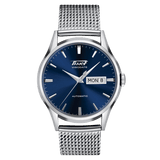 Tissot Heritage Visodate Blue Dial Mesh Band Men's Watch T0194301104100