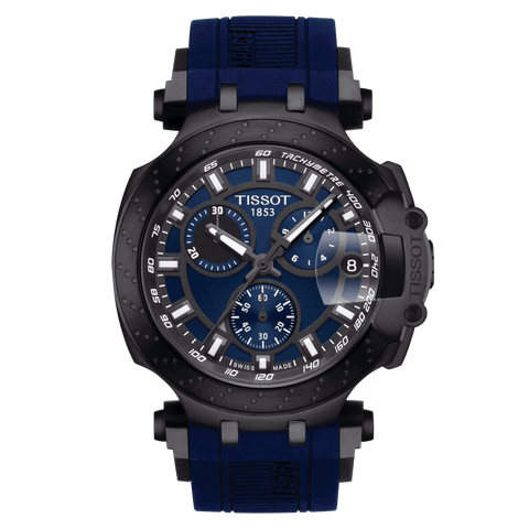 Tissot T-Sport T-Race Chronograph Blue-Black Men's Watch T1154173704100