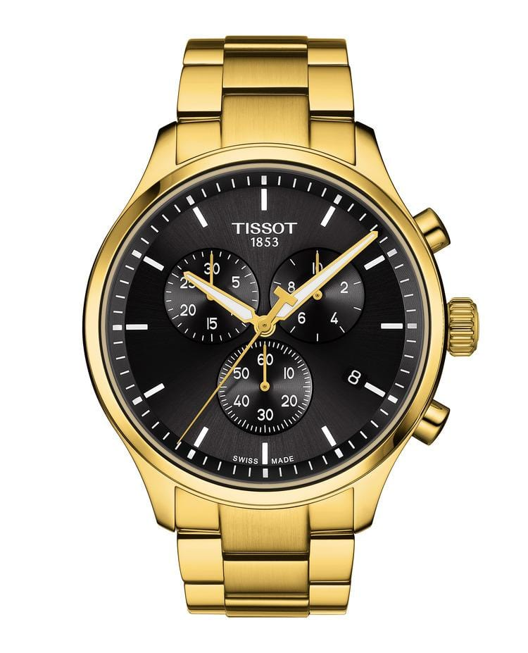 Tissot Chrono XL Classic Yellow Gold Stainless Steel Men's Watch T1166173305100