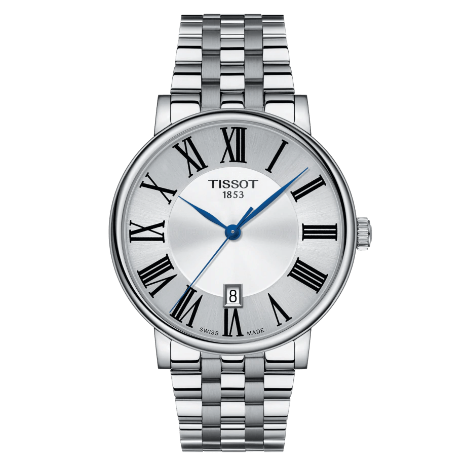 Tissot T-Classic Carson Premium Stainless Steel Men's Watch T1224101103300