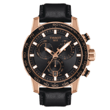 Tissot Supersport Chrono Back-Rose Gold Swiss Men's Watch T1256173605100
