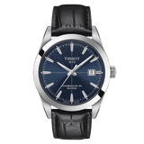 Tissot Gentleman Powermatic 80 Silicium Blue Dial Men's Watch T1274071604101