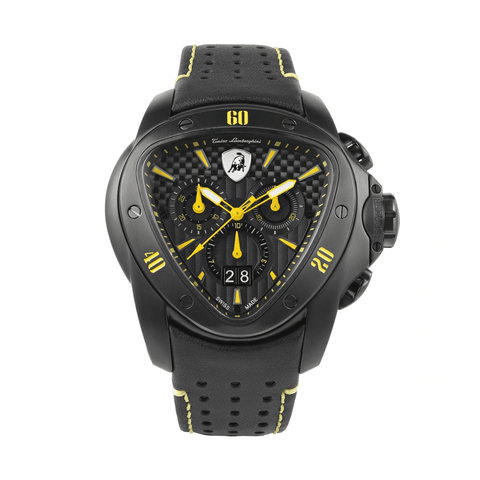 Tonino Lamborghini Spyder Chronograph Yellow-Black Men's Watch T9SE