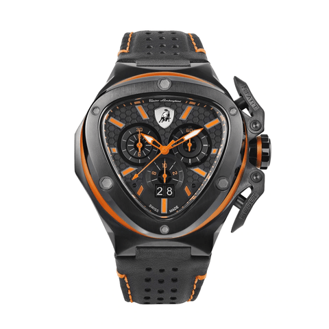 Tonino Lamborghini Spyder X Chronograph Orange-Black Men's Watch T9XB