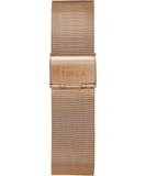 Timex Fairfield 41mm Chronograph Rose Gold Stainless Steel Mesh Men's Watch TW2T37200