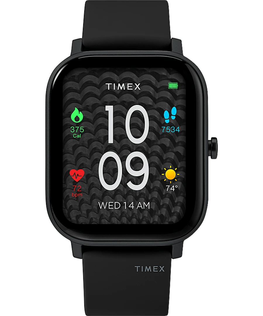 Timex Metropolitan S 36mm Smartwatch Black Women's Watch TW5M43200