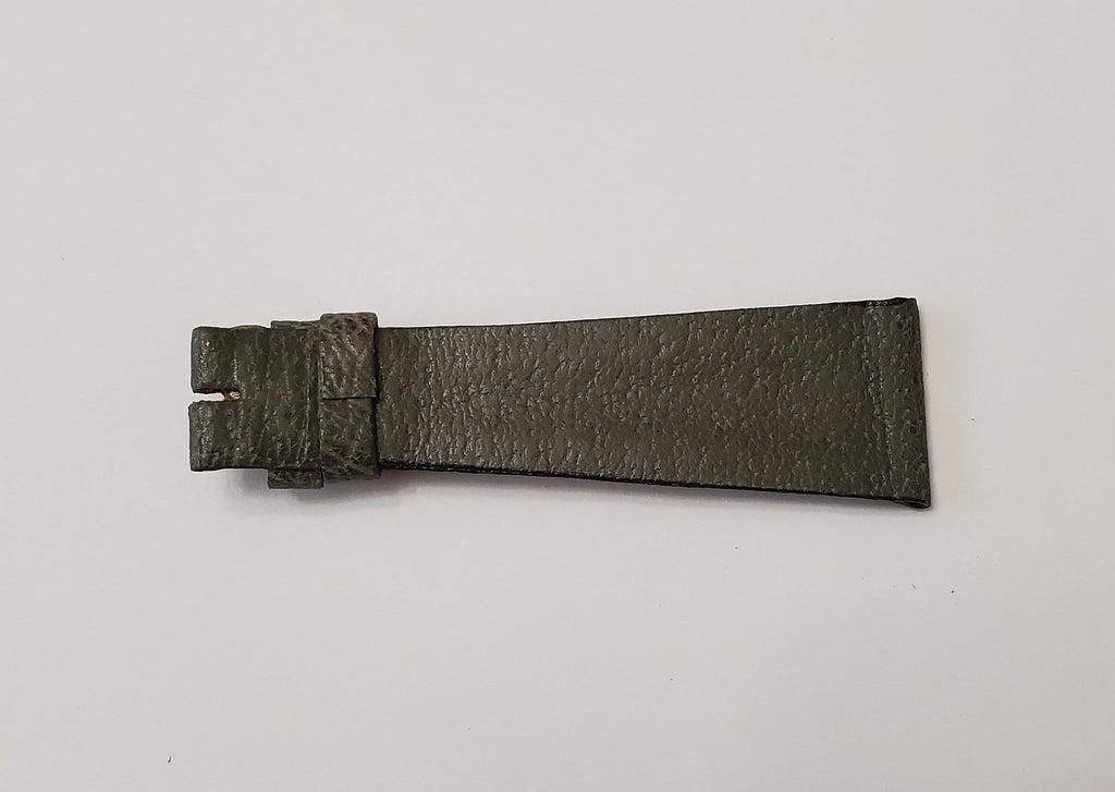 Universal Genève Vintage Mossy Green Leather Strap 20mm
