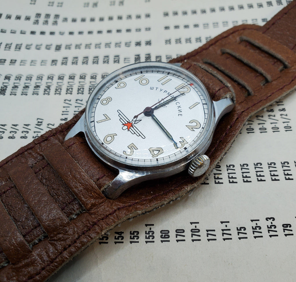 WTYPMAHCKNE Russian Vintage Mechanical Watch Circa 1980s