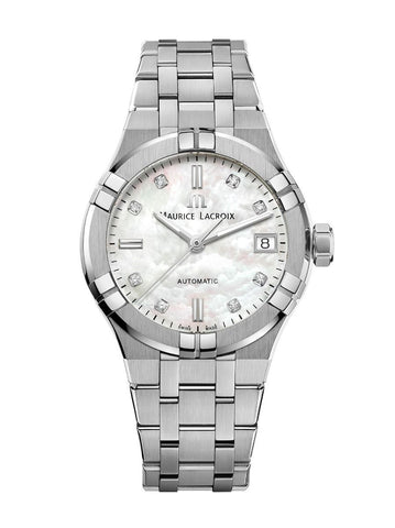 Maurice Lacroix AIKON Automatic 35mm Diamonds Women's Watch AI6006-SS002-170-1