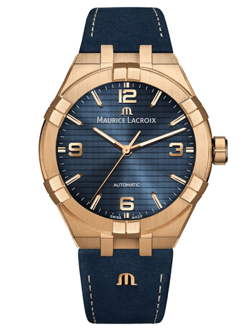 Maurice Lacroix AIKON Automatic Bronze 42mm Limited Edition Men's Watch AI6008-BRZ01-420-1