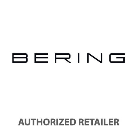 BERING Titanium 39mm Brushed Blue Day-Date Men's Watch 11939-393