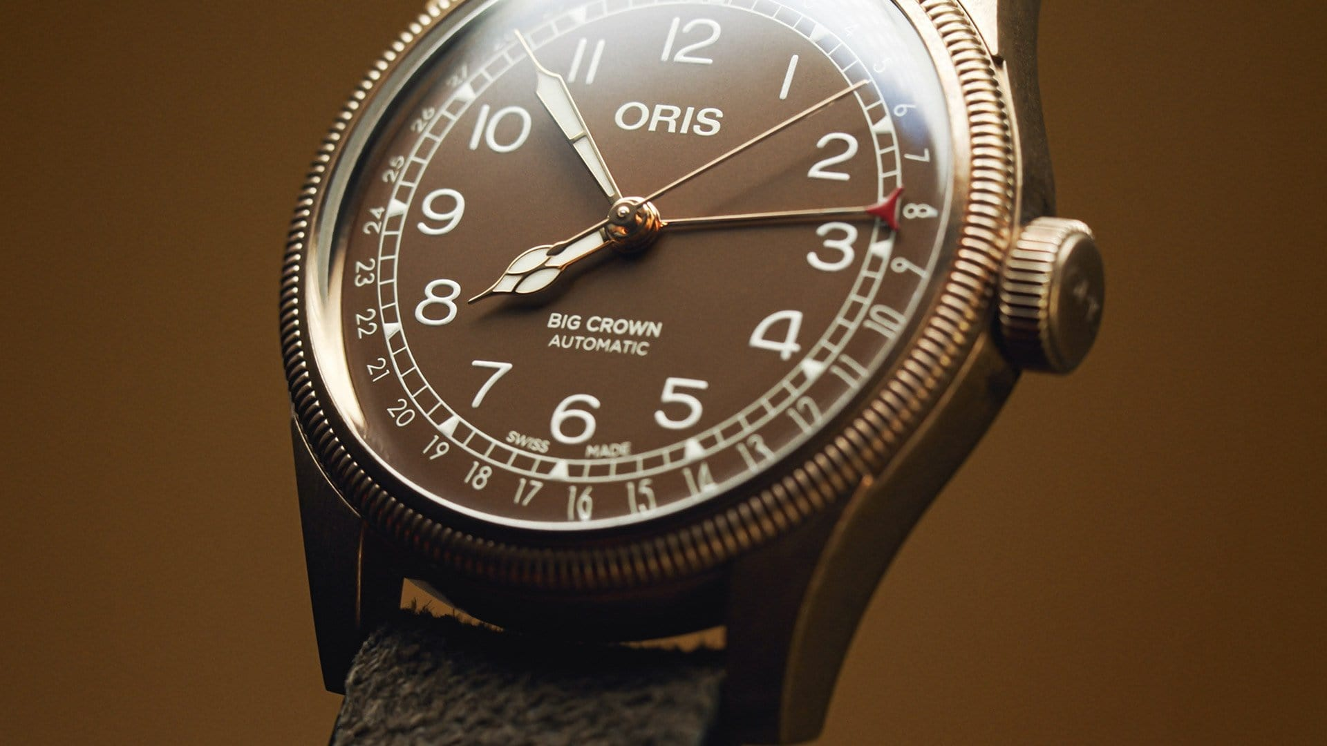 Oris Big Crown Bronze Pointer Date Men's Watch 01 754 7741 3166-07 5 20 74BR