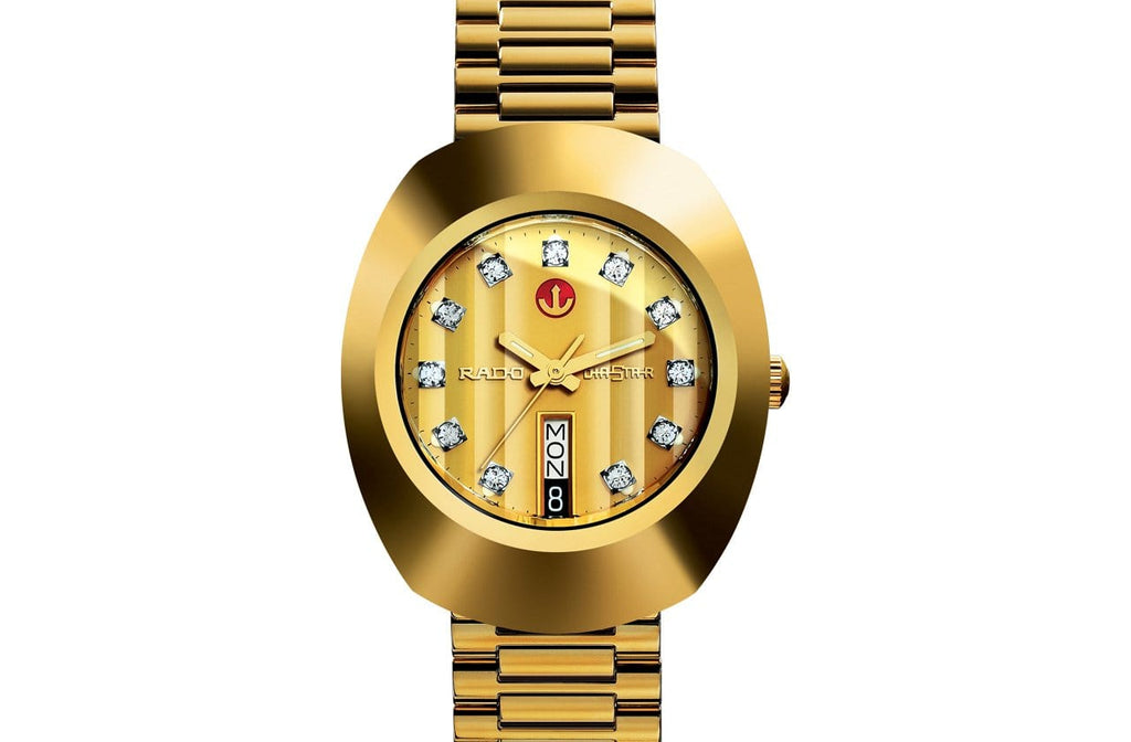 RADO The Original Automatic Gold PVD Stainless Steel Men's Watch R12413493