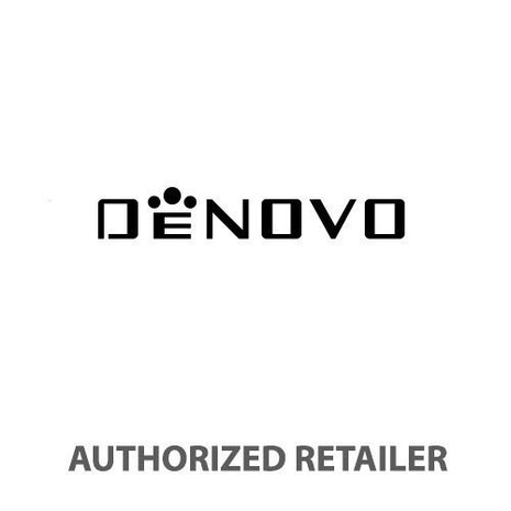 DeNovo DN2020-24WON Men's Swiss Made White Dial Chronograph Watch Black Rubber Strap