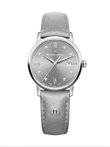 Maurice Lacroix ELIROS Date 30mm Light Grey Women's Watch EL1094-SS001-250-1
