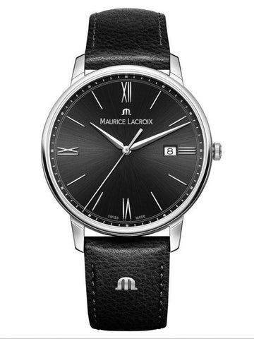 Maurice Lacroix ELIROS Date 40mm Black Strap Men's Watch EL1118-SS001-310-1