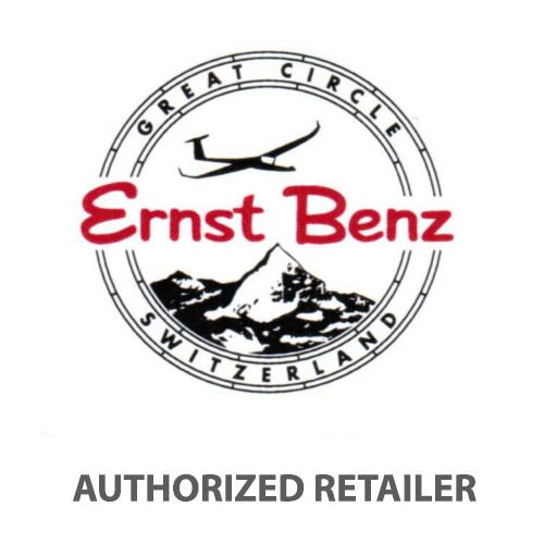 Ernst Benz Chronolunar 44mm Chronograph Automatic White Dial Black Leather Band Men's Watch GC40312