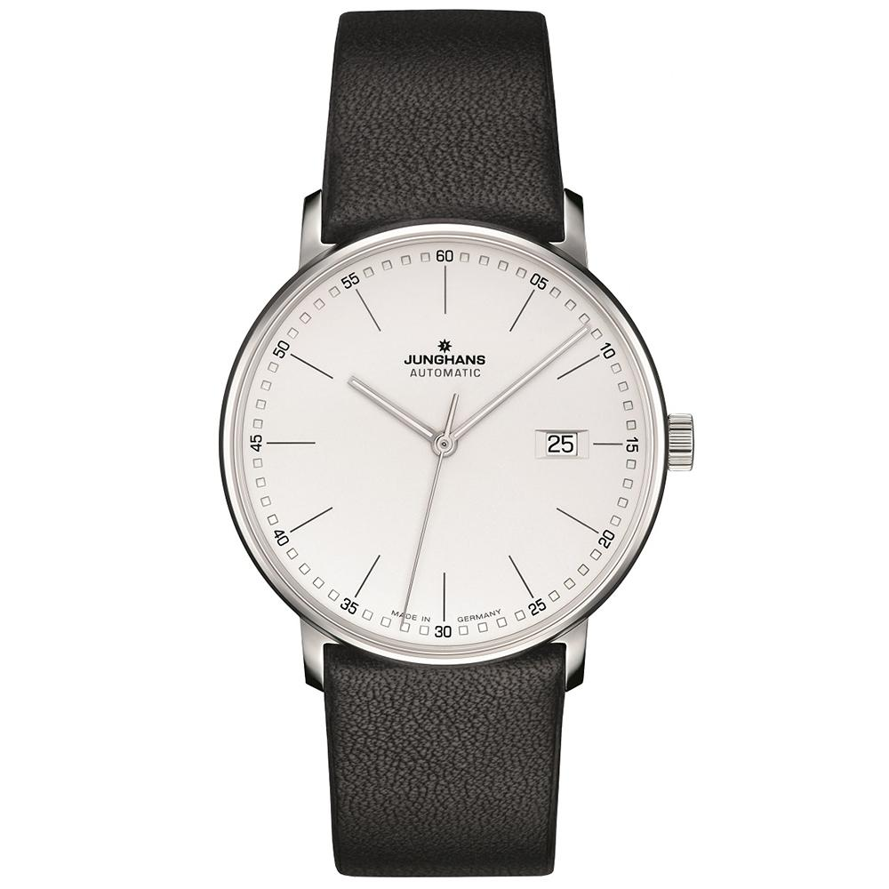 Junghans Form A 39.1mm Automatic Matte Silver Dial Men's Watch 027/4730.00