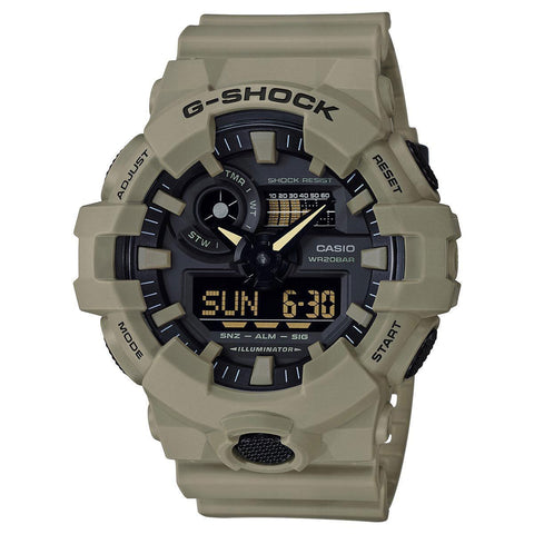G-Shock Analog-Digital Tan Men's Watch GA700UC-5A