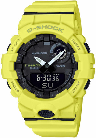 G-Shock G-Squad Step Tracker & Smartphone Link Unisex Watch GBA800-9A