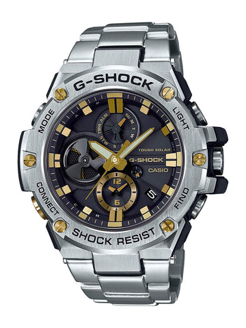 Copy of G-Shock G-STEEL Stainless Steel Solar Powered Men's Watch GSTB100D-1A9