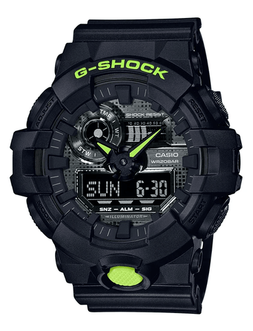G-Shock Analog-Digital Sport Black Men's Watch GA700DC-1A