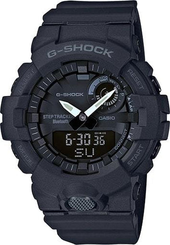 G-Shock Analog-Digital Step Tracker & Smartphone Link Unisex Watch GBA800-1A