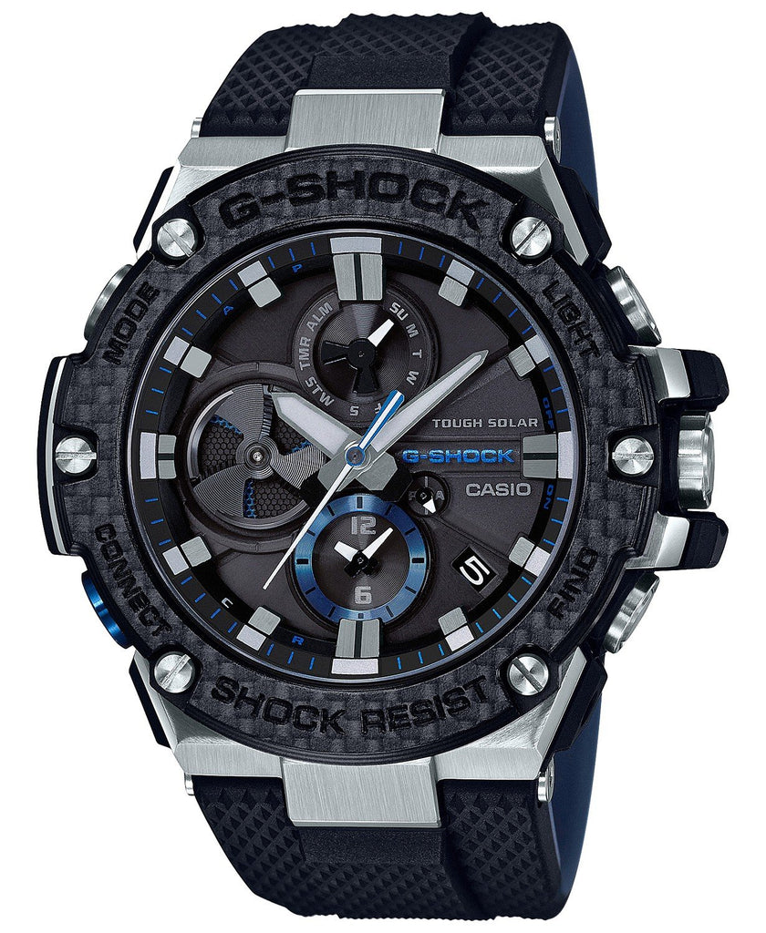 G-Shock G-STEEL Carbon Bezel Solar Powered Men's Watch GSTB100XA-1A
