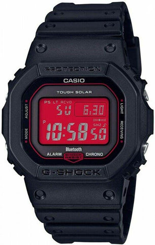 G-Shock Digital Sport Connected Retro Classic Red-Black Unisex Watch GWB5600AR-1