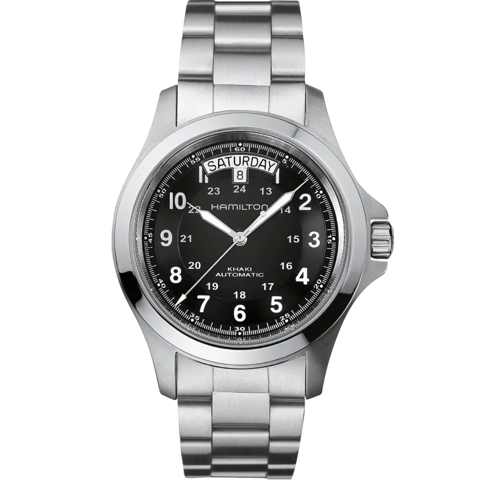 Hamilton Khaki Field King Auto Black Dial Men's Watch H64455133