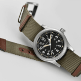 Hamilton Khaki Field Mechanical Green NATO Strap Men's Watch H69439931